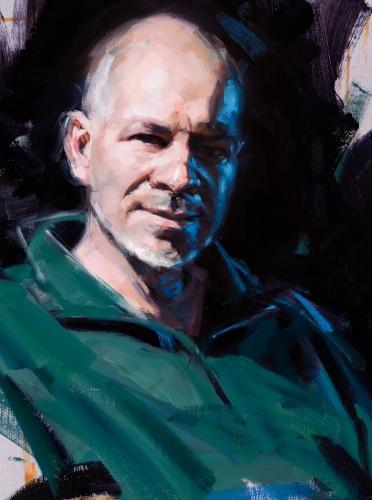Portrait, Oilpainting, Comissioned portrait, Ölbild, Auftragsportrait, Andrew Judd, stefan_nuetzel