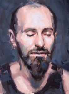 Portrait, Oilpainting, Comissioned portrait, Ölbild, Auftragsportrait, stefan_nuetzel