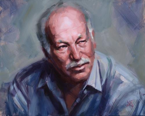 Portrait, Oilpainting, Comissioned portrait, Ölbild, Auftragsportrait