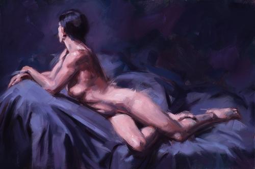 Ölbild, stefan_nuetzel, Figurative Malerei, Contemporary Realism, Figurativ, Ölmalerei, Aktmalerei, Akt